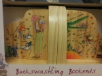 Want, want, want these Buck Swashling Bookends
