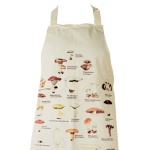 These mushroom aprons are flying out from our cookery section