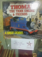 Signed by the Reverend Awdry this rare copy of the childhood favourite is available from our Rare Books department