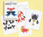Inkblot Tests - easy to turn into a game around the dining room table