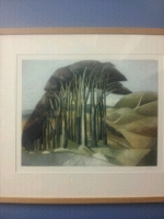 Wood on the Downs by John Nash. A fine art print £350.00