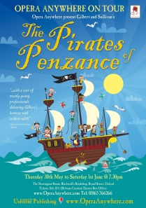 Pirates of Penzance Poster